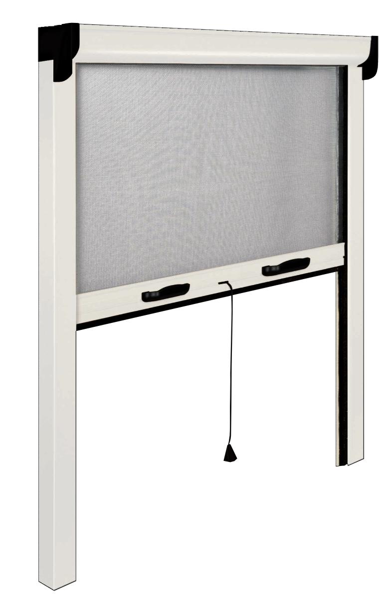 Ruber Zanzariera Finestra Zanzariera per Finestra Adesiva,qualit/à Standard,Rete per Zanzariera Avvolgibile Alluminio,Gray,40x100cm 16x39inch